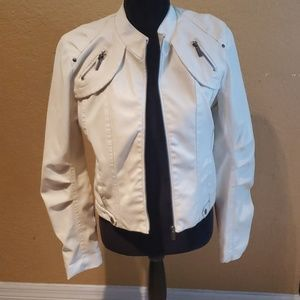 New Look Off White Jacket